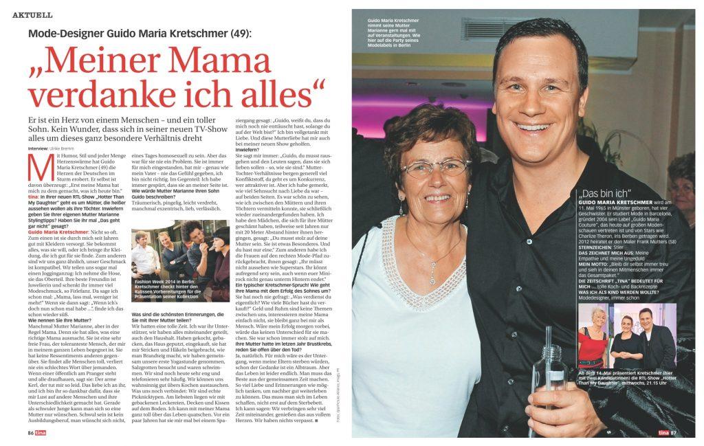 Interview Guido Maria Kretschmer - tina - Frau Bremm schreibt