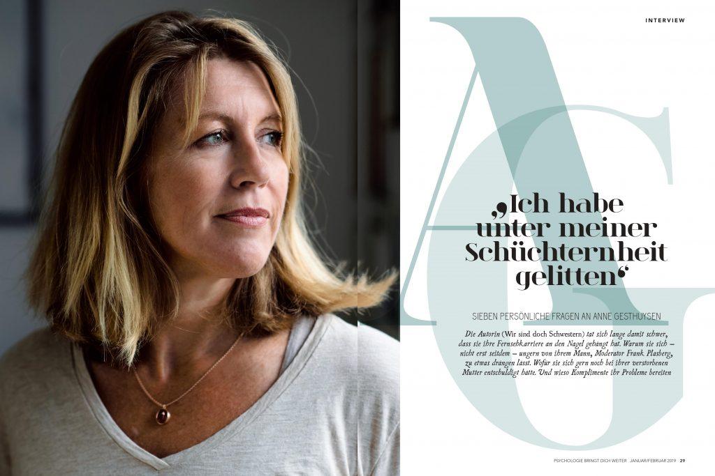 Anne Gesthuysen (Psychologie bringt dich weiter) - Promi-Interview - Frau Bremm schreibt!