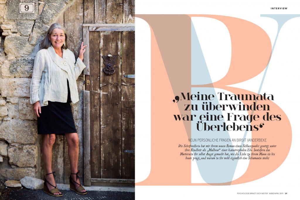 Birgit Vanderbeke (Psychologie bringt dich weiter) - Promi-Interview - Frau Bremm schreibt!