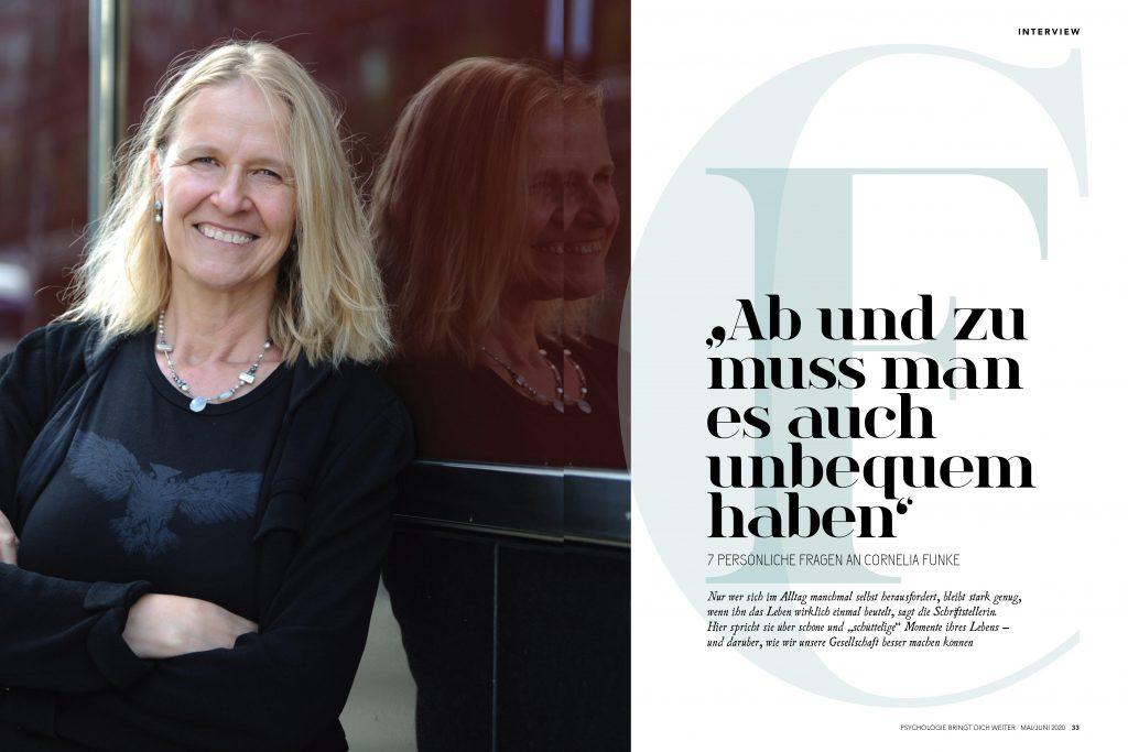 Cornelia Funke (Psychologie bringt dich weiter) - Promi-Interview - Frau Bremm schreibt!