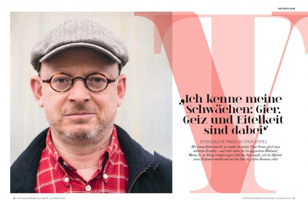Timur Vermes (Psychologie bringt dich weiter) - Promi-Interview - Frau Bremm schreibt!