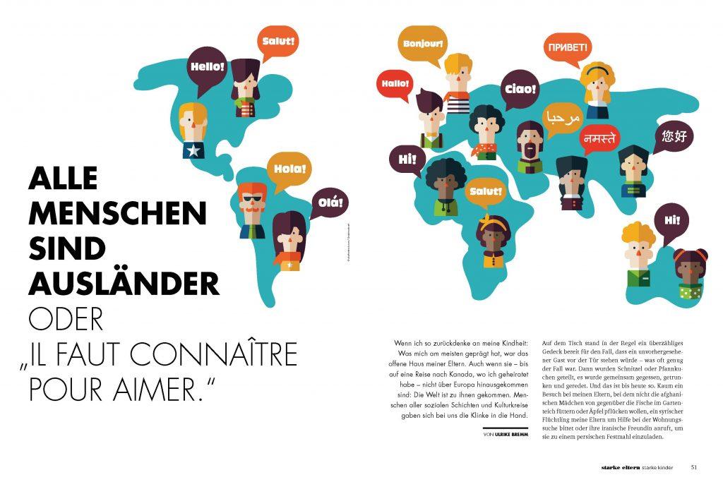 Alle Menschen sind Ausländer (starke eltern starke kinder) - Service-Artikel - Frau Bremm schreibt!