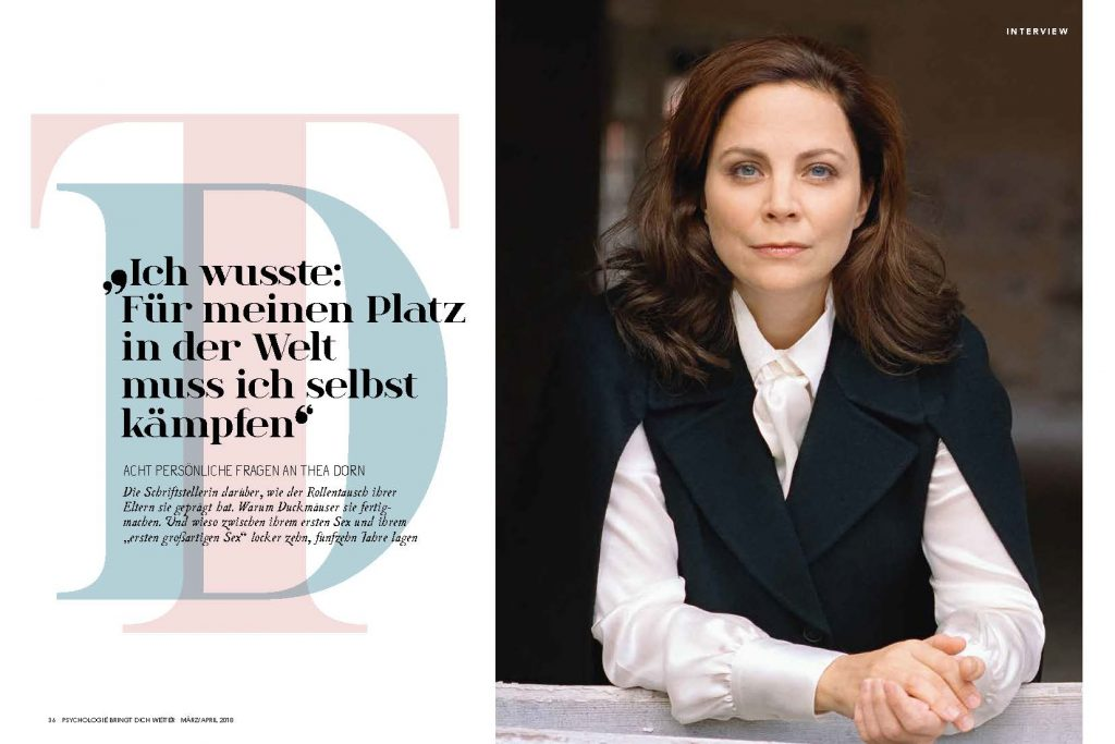 Thea Dorn (Psychologie bringt dich weiter) - Promi-Interview - Frau Bremm schreibt!