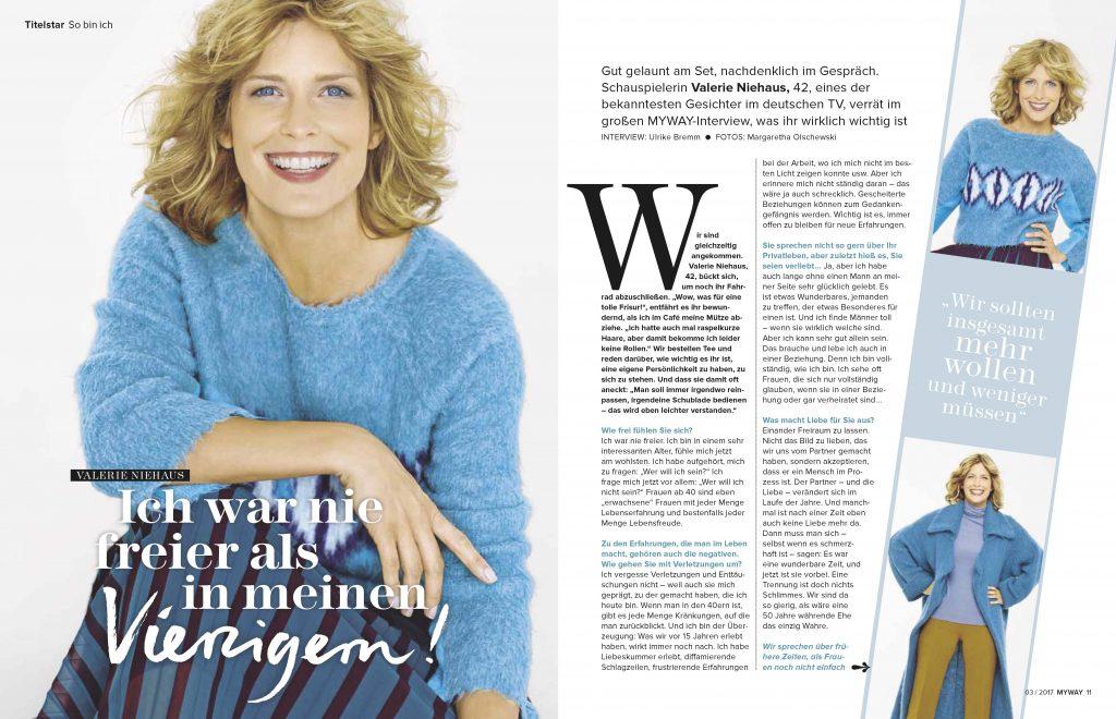 Valerie Niehaus (MYWAY) - Promi-Interview - Frau Bremm schreibt!