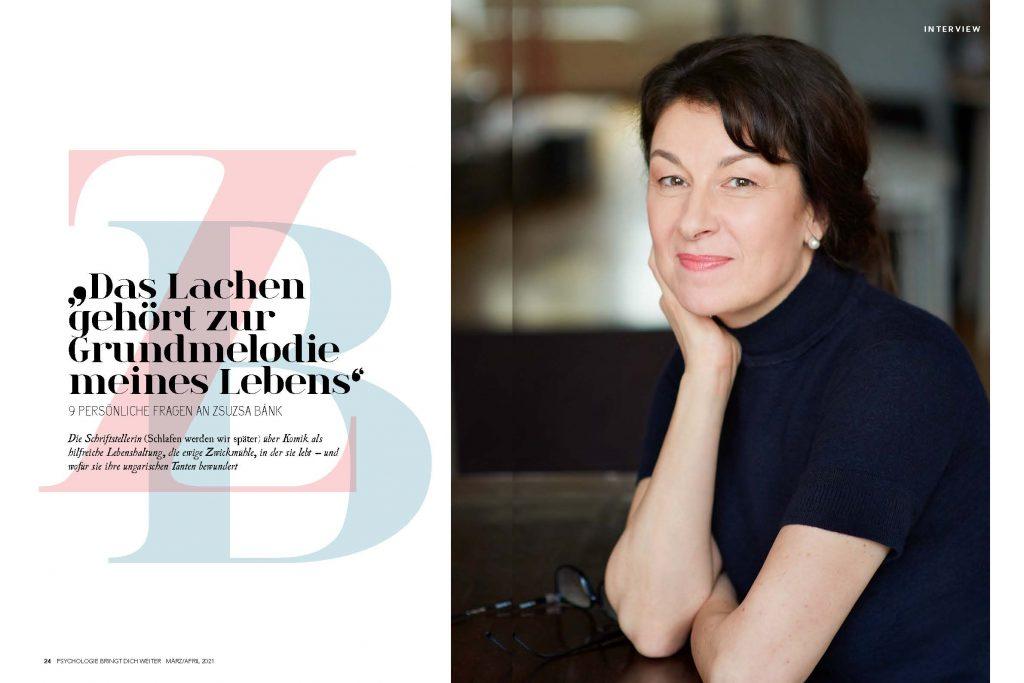 Zsuzsa Bánk (Psychologie bringt dich weiter) - Promi-Interview - Frau Bremm schreibt!