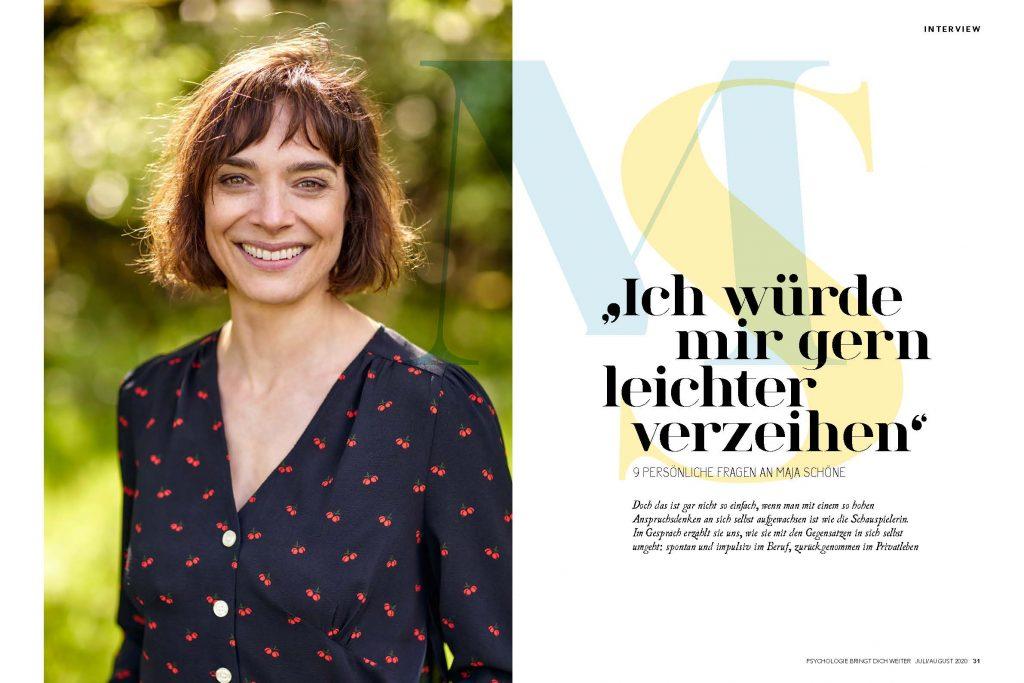 Maja Schöne (Psychologie bringt dich weiter) - Promi-Interview - Frau Bremm schreibt!