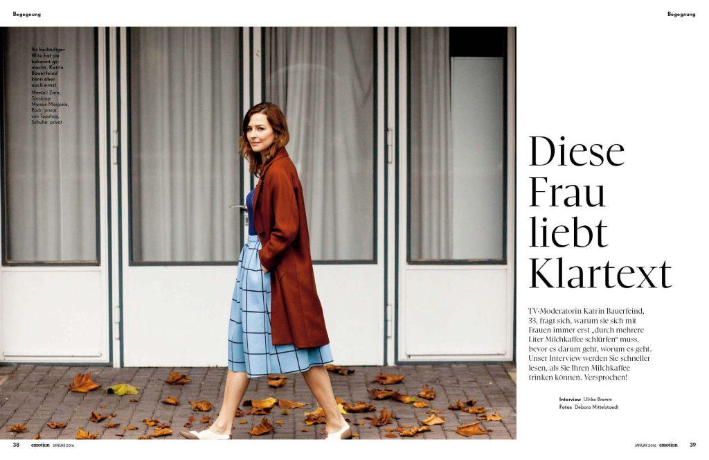Katrin Bauerfeind (emotion) - Promi-Interview - Frau Bremm schreibt!